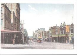 RP Melbourne Victoria SWANSTON ST FROM LONSDALE ST MELBOURNE REM MELB - Melbourne