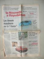 LA NOUVELLE REPUBLIQUE DU CENTRE 19 AVRIL 1989  ( journal jour naissance )