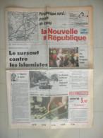 LA NOUVELLE REPUBLIQUE DU CENTRE 3 JANVIER 1992  ( journal jour naissance )