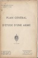 Manuel/ Ecole d�application de l�infanterie/Plan g�n�ral d'�tude d'une arme /fusil semi-autom/Saint Maixent/ 1953  LIV52