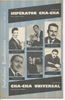 BENNY BENNET / G. JOUVIN    Partitions -  IMPERATOR CHA-CHA + CHA-CHA UNIVERSAL - éditions  BOURBONNAISES ( PARTITION ) - Musique & Instruments