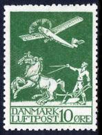 !■■■■■ds■■ Denmark Air Post Sc#C1* 10ø (w0019) - Danemark