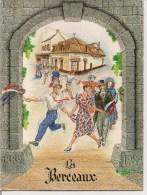 """Menu Vierge Anniversaire 1889-1989  """"Les Berceaux""""  à Epernay (51) - Menükarten"""