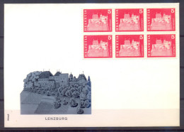 Zwitserland - FDC - Lenzburg- 1968 - FDC