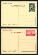 FRANCE - ENTIERS POSTAUX - 50c Et 90c VIMY - 2 CP NEUVES - STORCH COM J1e Et J2f - Entiers Postaux