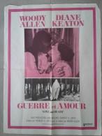 Affiche de cin�ma - GUERRE et AMOUR - 80 X 60