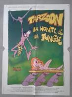 Affiche de cin�ma - TARZOON - La Honte de la Jungle - 80 X 60
