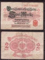 Deutsches Reich , 2 Mark , 1914 , RB-52 A , VG - [ 2] 1871-1918 : Duitse Rijk