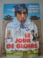 Affiche de cin�ma - LE JOUR DE GLOIRE - Jean LEVEBVRE - 160 X 116