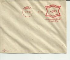 BOHMEN UND MAHREN MUESTRA FRANQUEO MECANICO 1939 BRNO ELECTRICIDAD - Bohemia Y Moravia