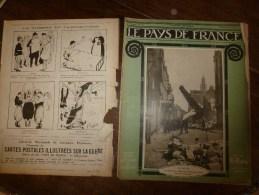 1914 JOURNAL De GUERRE(Le Pays De France):Au Maroc; La-Ferté-sous-Jouarre; Pervyse; Trilport; RAMSCAPELLE ; Ypres..etc - Revues & Journaux