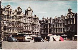 Bruxelles: PEUGEOT 203 FAMILIALE,  SEMI-DOUBLEDECKER AUTOBUS/COACH, OLDTIMER CAR ENGLAND (RHD)  - Brussel  - (B) - Passenger Cars