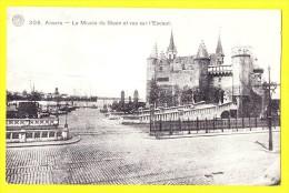 * Antwerpen - Anvers - Antwerp * (G. Hermans, Nr 308) Le Musée Du Steen Et Vue Sur L'Escaut, Schelde, Port, Quai, Rare - Antwerpen