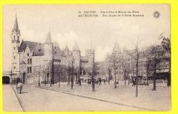 * Antwerpen - Anvers - Antwerp * (G. Hermans, Nr 59) Place Bex Et Musée Du Steen, Animée, Kasteel, Museum, Rare - Antwerpen