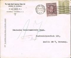 Guatemala 1931 Postal Cover Guatemala - Germany - Guatemala