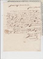 Frascati Lettera Della Princepessa 1816 Per Avvocato Roma - Documenti Storici