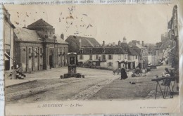 Souvigny : La Place - France