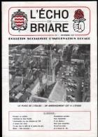 45 - BRIARE - BULLETIN SOCIALISTE D´INFORMATION LOCALE N°1 - COUVERTURE: PLACE DE L'EGLISE - Centre - Val De Loire