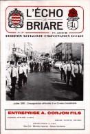 45 - BRIARE - BULLETIN SOCIALISTE D´INFORMATION LOCALE N°5 - COUVERTURE: INAUGURARION COMICE - Centre - Val De Loire