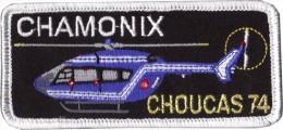 Gendarmerie Hélicoptères - Namtag CHOUCAS 74 - Police & Gendarmerie