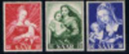 KUNST/ART - HEILIGE MARIA/ST. MARIE - Y&T : 331/3 - 1954* MET PLAKKER/AVEC COLLANT - Ohne Zuordnung