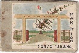 """REGIA  ACCADEMIA AERONAUTICA - Calendario 1942 /  Corso """" URANO """"  _ ID. DI GIO´ - Disegni BALLISTA - Formato Piccolo : ...-1900"""