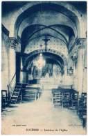 Sucères, Intérieur De L'église - France