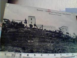 CARTOLINA DI ROSSINO (CALOLZIOCORTE), CASTELLO (CASTLE) INNOMINATO LECCO SOPRA CALOLZIO VB1922  X VILLASTRADA MO EL7960 - Lecco