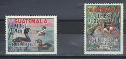 TIMBRES  GUATEMALA   N° 452/453 **  Poste  Aérienne - Guatemala