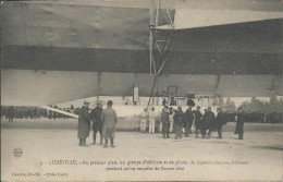 Lot N°25596   Carte Postale De LUNEVILLE , Zeppeline - Luneville