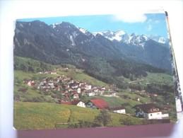 Liechtenstein Triesenberg Nice Panorama - Liechtenstein