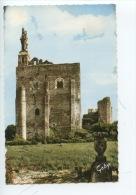Montbazon - Le Donjon Ruines Du Chateau Fort (foulques Nerra Duc D'Anjou) Vierge Enfant Jésus 3 M De Hauteur éd Artaud D - Montbazon