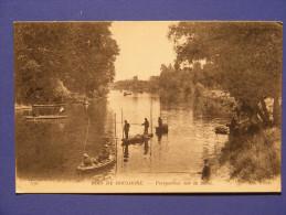 CPA Paris (75) - Bois De Boulogne - Perpective Sur La Seine - Pêcheurs - Parchi, Giardini