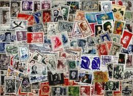 - VRAC - FRANCE  4000 timbres TOUS DIFFERENTS, � saisir ! TRES BEAU LOT, ENORME COTE.