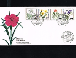 Flora - Flowers - Wohlfahrt - Gef�hrdete Ackerwildkr�uter - FDC Berlin (West) 1980 [D14_611]