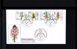 Flora - Flowers - Wohlfahrt - Orchideen - FDC Berlin (West) 1984 [D14_625]