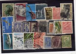 F 278  Lote Sellos Grecia  Diferentes Años, Usados - Collections