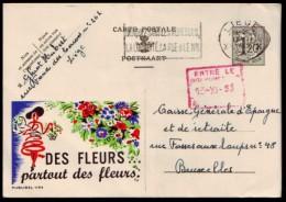 Belgie - Briefkaart - Publibel 1194 - Des FLEURS