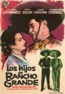 LOS HIJOS DE RANCHO GRANDE - CIRE FILMS - ESTHER FERNANDEZ, TITO GUIZAR - Programa Cine AFFICHE CINÉMA - Affiches & Posters