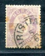 3299 - NORWEGEN, Mi.Nr. 19, 4 Skilling (II.Wahl), Gestempelt - NORWAY, Early Used Stamps In Second Quality - Norvège