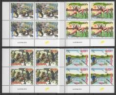 Senegal (2013) - Set - Block of 4   /  Mushrooms - funghi - champignons - Setas - Pilzen - Birds - Fauna - Frog - Monkey