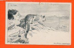 Le LION ( Carte Postale Du Journal Des Voyages ) - Lions