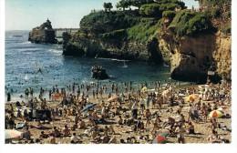 BIARRITZ - Port Vieux Et Rocher De La Vierge - Cap 2977 - Petite Dentelée - Biarritz