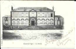51-Env. D´ EPERNAY - MESNIL-sur-OGER  - La MAIRIE -Précurseur 1900- SUP RARE Tirage - Epernay