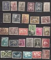 PORTUGAL °1949 1950  YT N° LOT DE  28 TIMBRES - 1910 - ... Repubblica