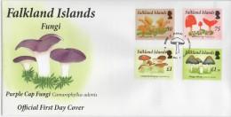 Falkland (2014) - FDC -   /  Mushrooms - funghi - champignons - Setas - Pilzen