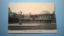 Versailles. - Sortie De La Gare. Rue Duplessis - Ile-de-France