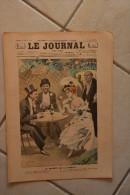 """Le JOURNAL pour tous-20 juillet 1898-dessin Bac-paroles"""" superflutes"""" par Testevuide-les locataires par Blanchet-Magon"""
