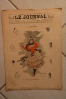 Le JOURNAL pour tous-6 fevrier 1895-vive le carnaval par Dudley-Hardy-celles qui fetent le carnaval par Abeille