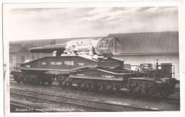 Krupp ESSEN Eisenbahn Waggon Geschütz Transportwagen Artillerie Dicke Bertha TOP-Erhaltung Ungelaufen Technische Daten - Ausrüstung